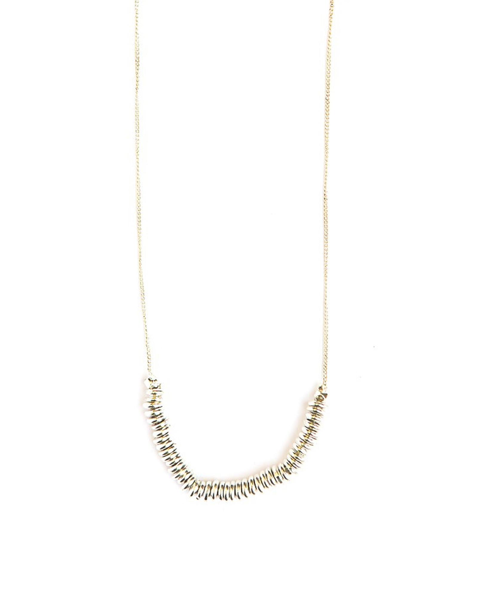 Delicate Discs Necklace