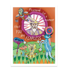 You Are Fearless Print