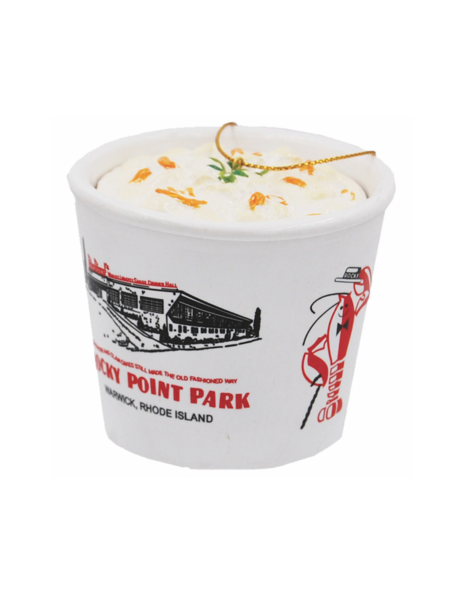Rocky Point Clam Chowder Ornament