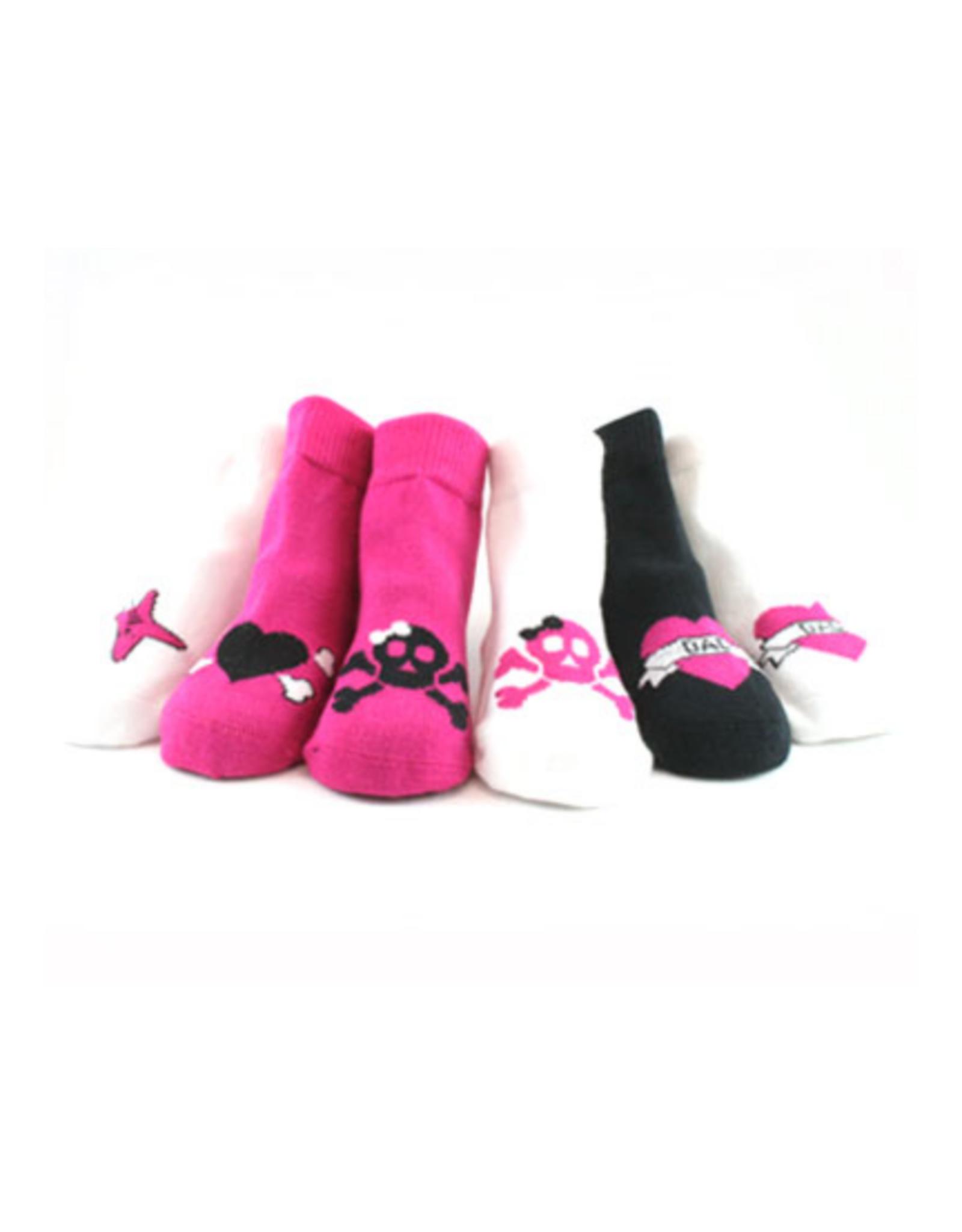 Girls Rocker Socks Set  0-12M
