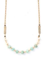 Amazonite Bead Necklace