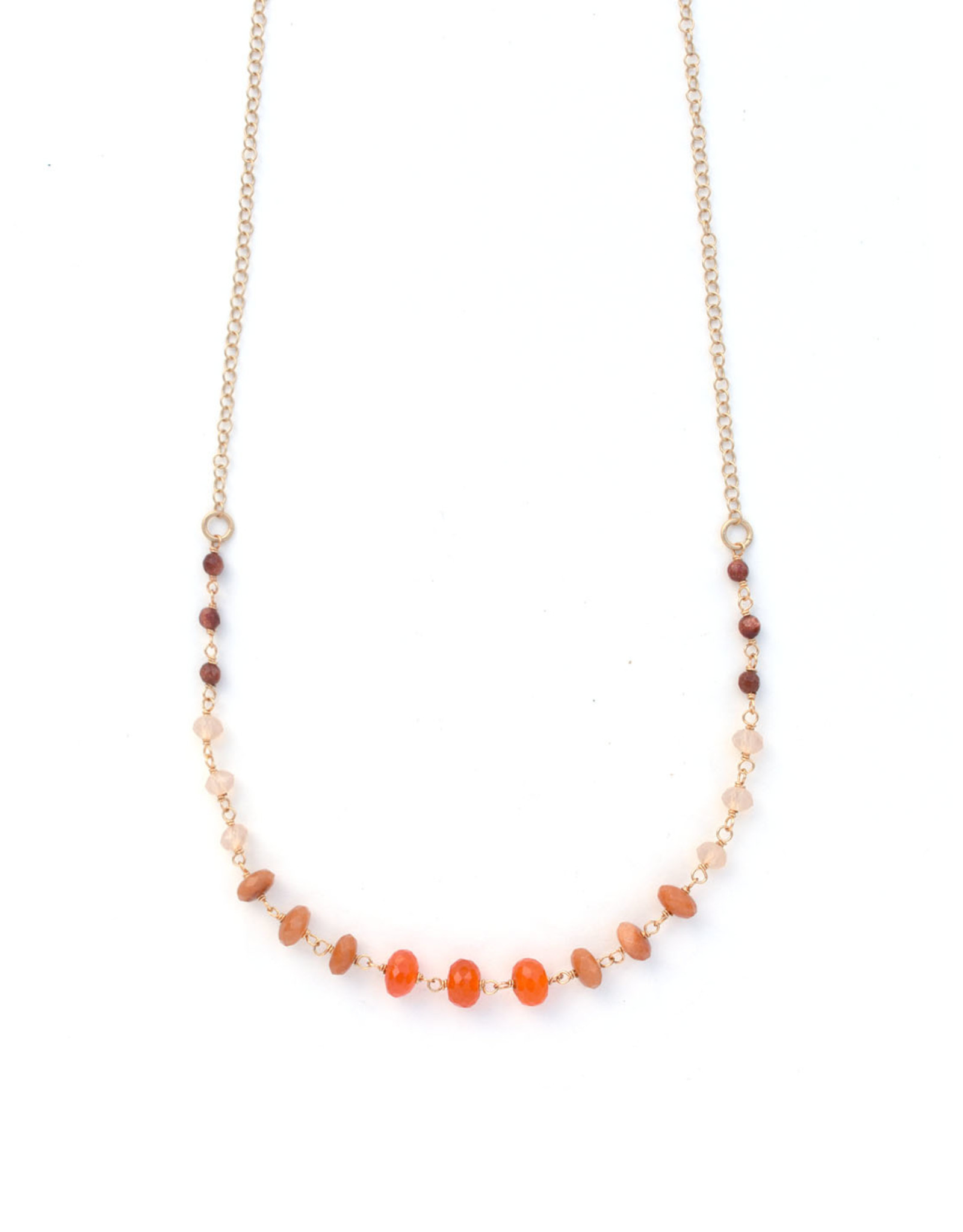 Fire Ombre Necklace