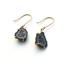 Tabasco Geode Drop Earrings