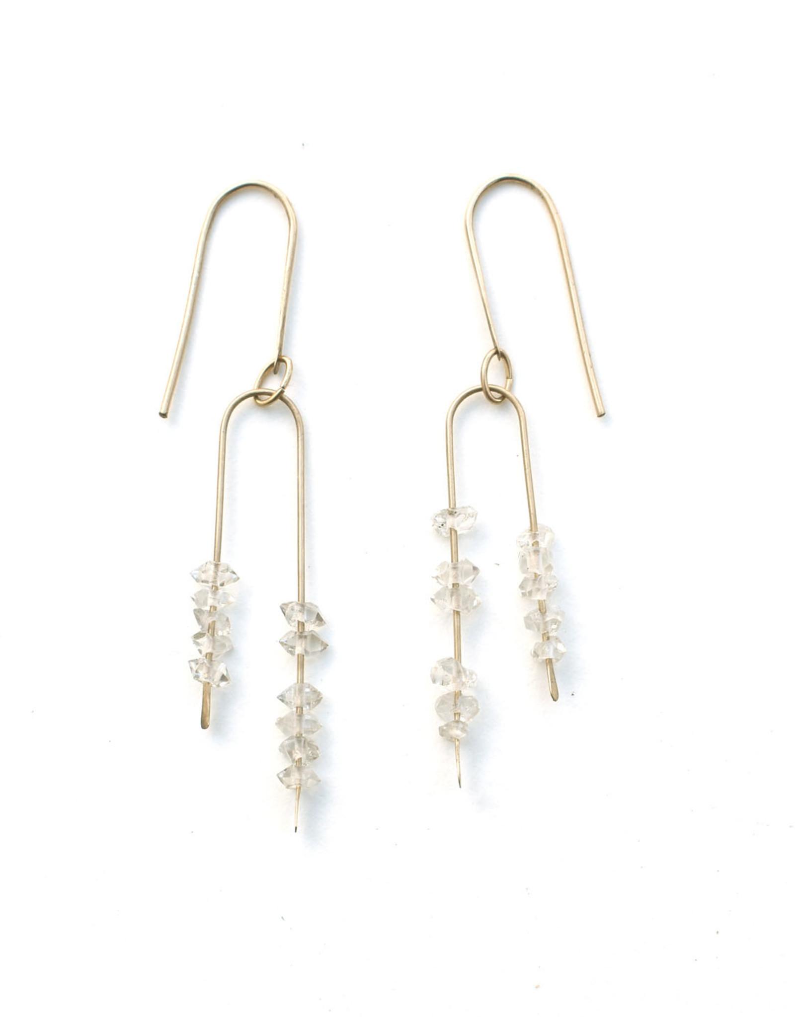 Herkimer Stone Earrings