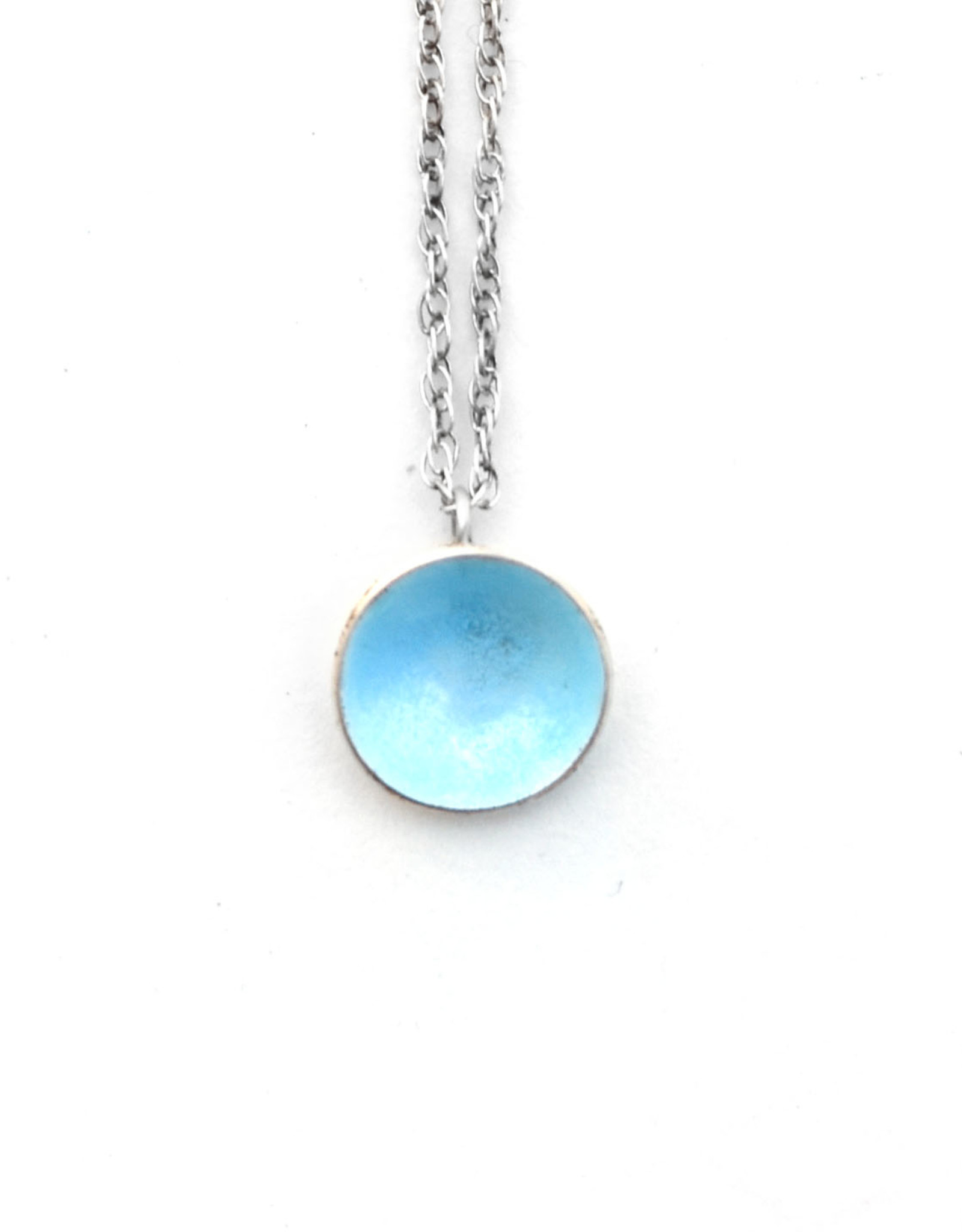 Blue Dot Necklace