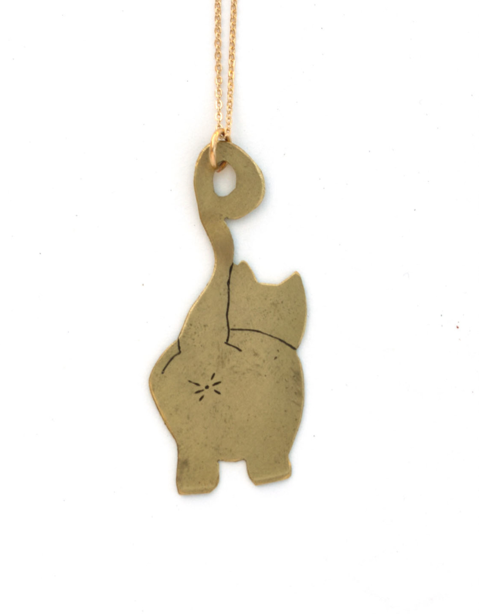 Cat Butt Necklace