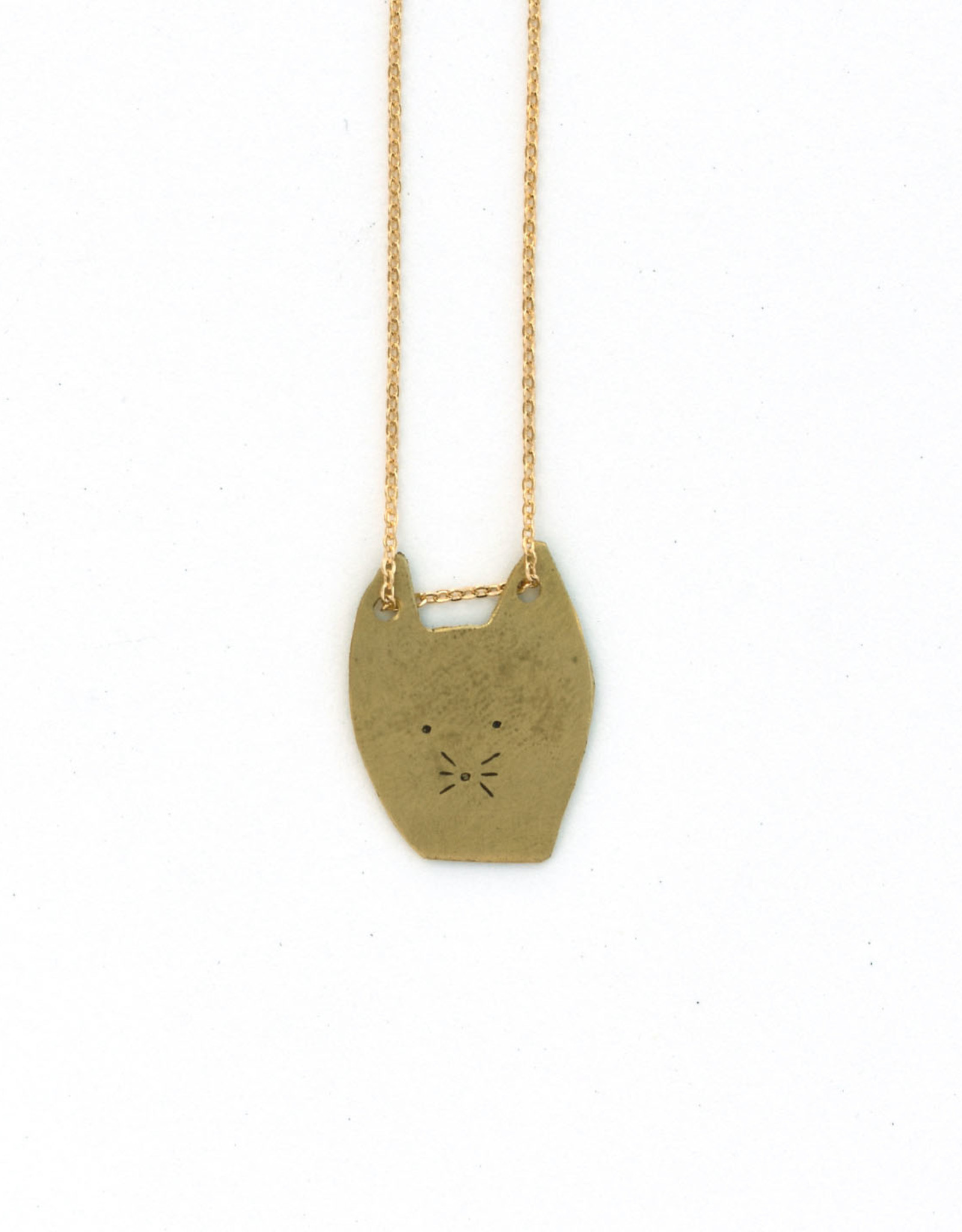 Cat Head Necklace