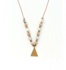 Trinity Beads Necklace