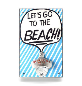 Let's Go to the Beach Bottle Opener