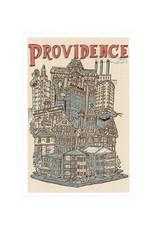 Providence Cityscape Framed Print (4x6)