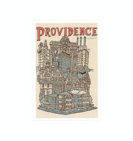 Providence Cityscape Framed Print (CURBSIDE PICK-UP ONLY)
