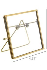 Monroe Brass Easel Frame - 4x4