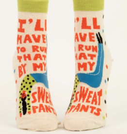 I'll Have to Run That By My Sweatpants Women's Ankle Socks