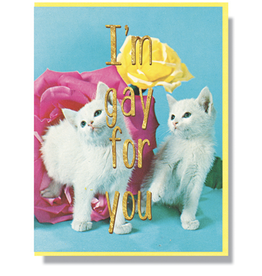 I'm Gay For You Greeting Card