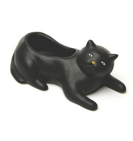 Cosmo the Black Cat Planter