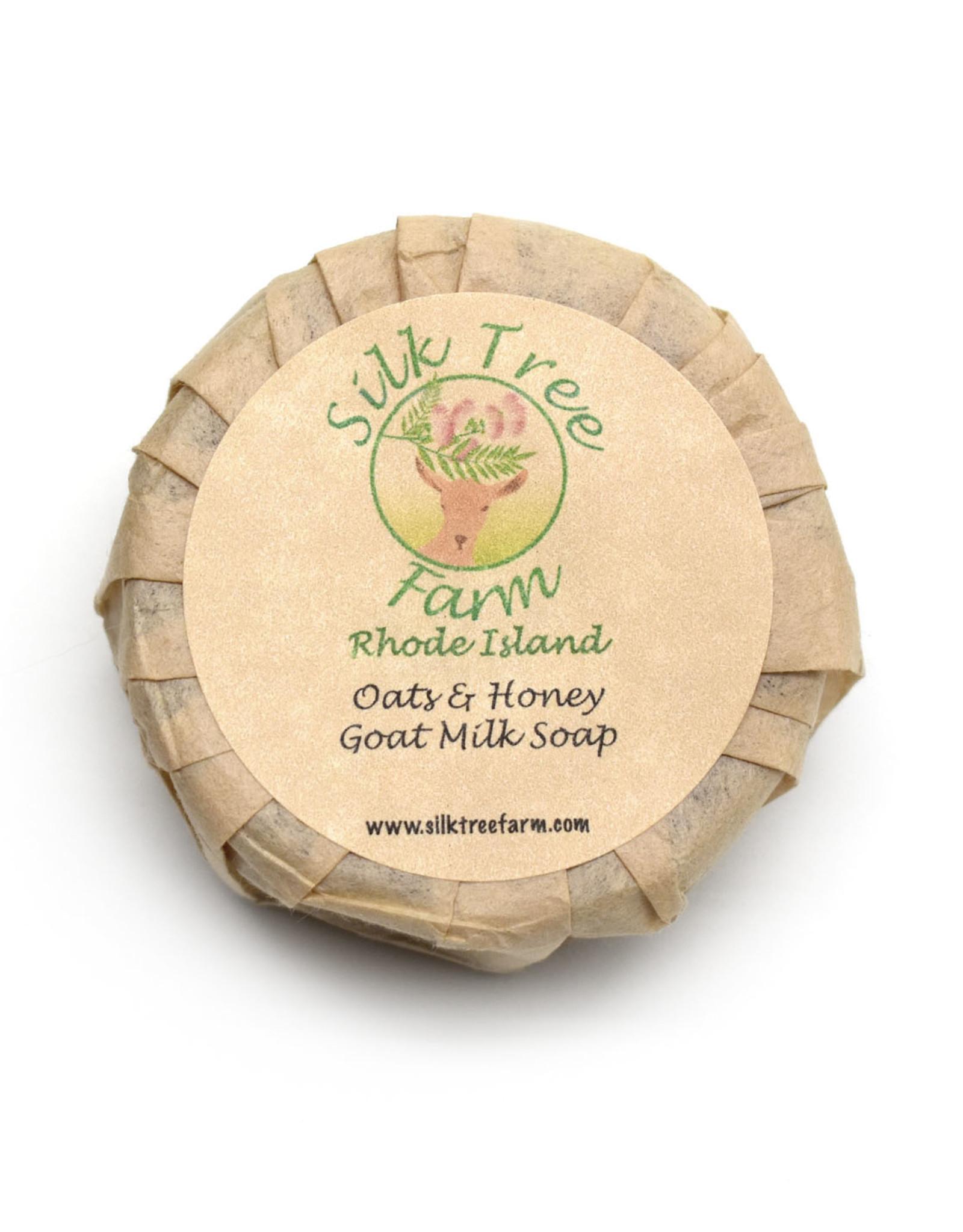 Oat Honey Sandalwood Goat Milk Soap Bar