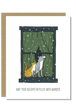 Holidays Filled with Wonder Greeting Card