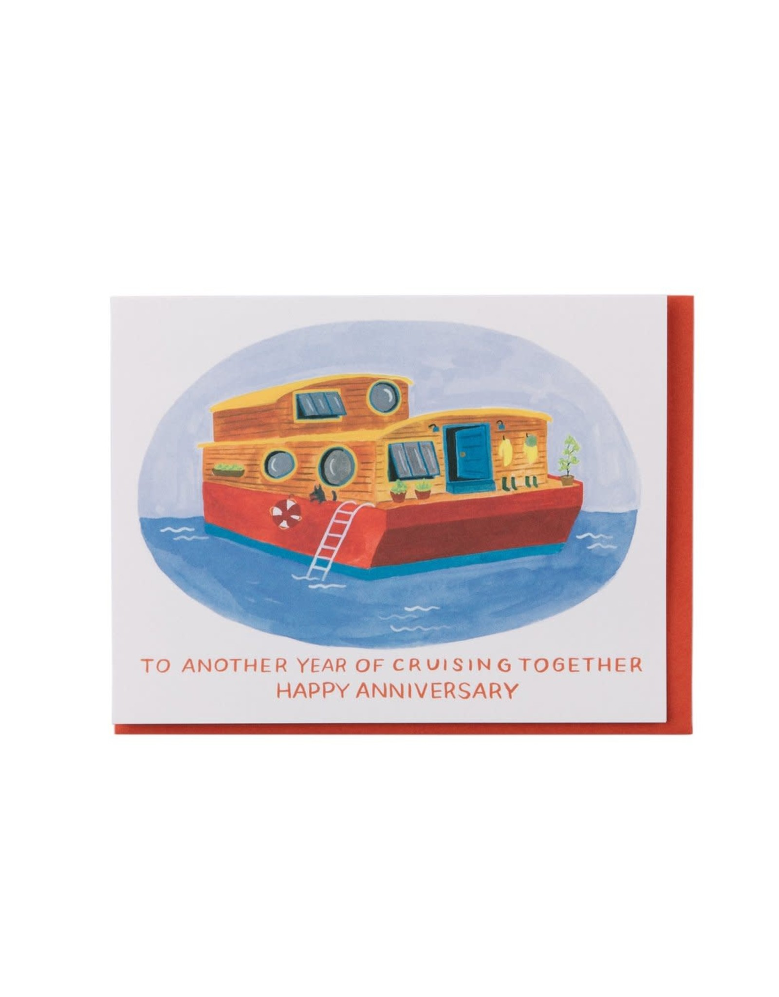 Cruising Together Anniversary Greeting Card