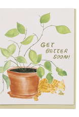 Get Better Soon! (Cat Barf) Greeting Card