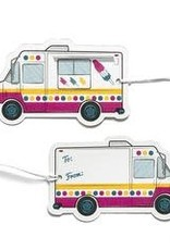 Ice Cream Truck Gift Tags