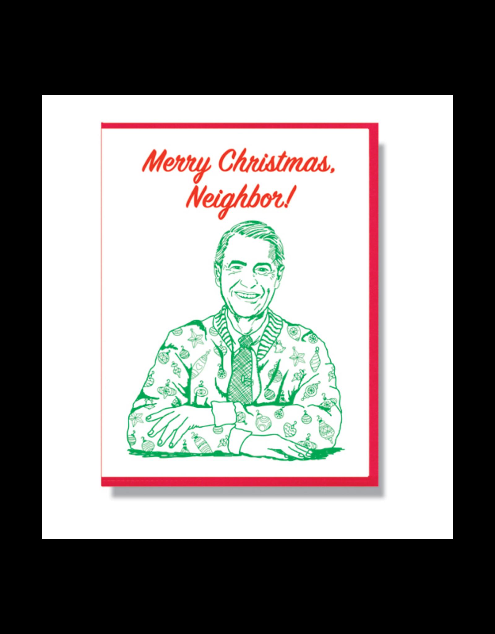 Merry Christmas, Neighbor! Mr. Rogers Holiday Card