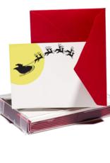 Santa's Sleigh Tiny Card