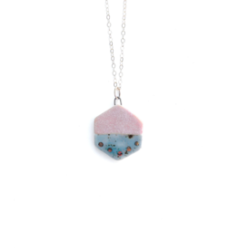 Small Hexagon Necklace (3 styles!)