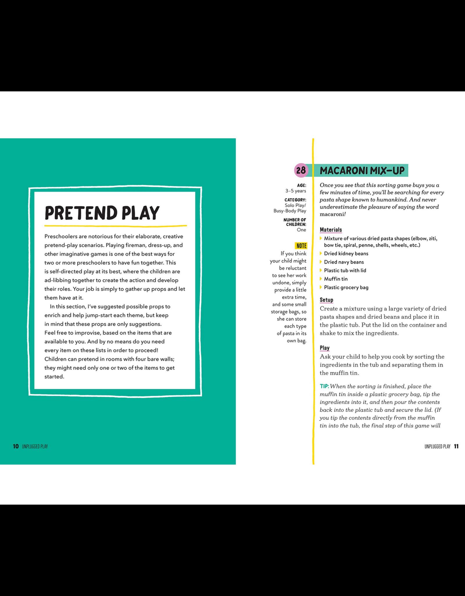 Unplugged Play: Preschool