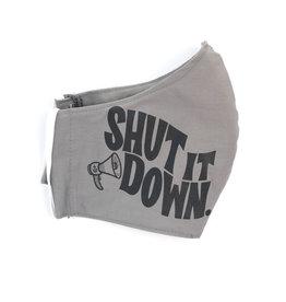 Shut It Down Face Mask