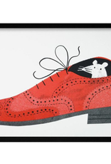Brogue Shoe Mouse Print