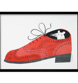 Brogue Shoe Mouse Print