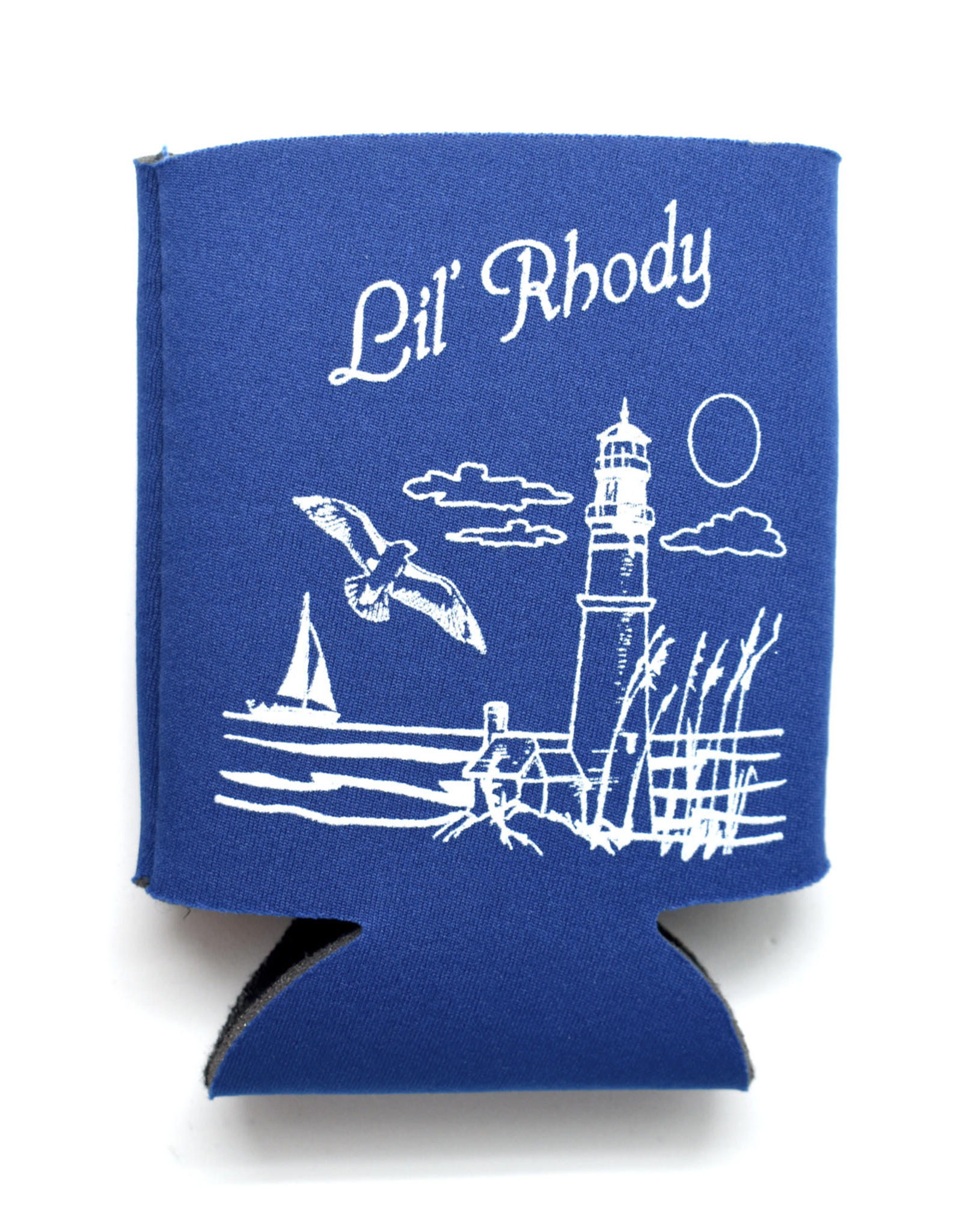 Lil' Rhody Can Coozie (4 Colors!)