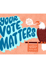 Your Vote Matters Postcard