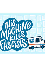 This Machine Kills Fascists USPS Postcard