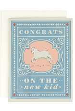 Congrats on the New Kid Greeting Card
