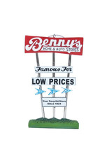 Benny's Sign Ornament