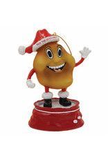 Iggy Santa Ornament
