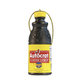 Autocrat Coffee Syrup Ornament