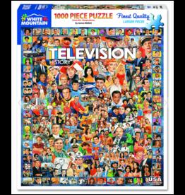 Television History 1000 Piece Puzzle
