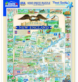 Historic New England 1000 Piece Puzzle