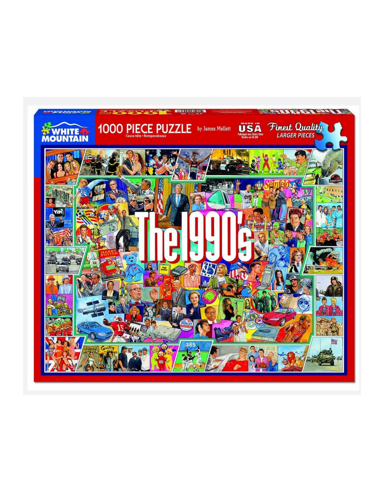 The 1990s 1000 Piece Puzzle
