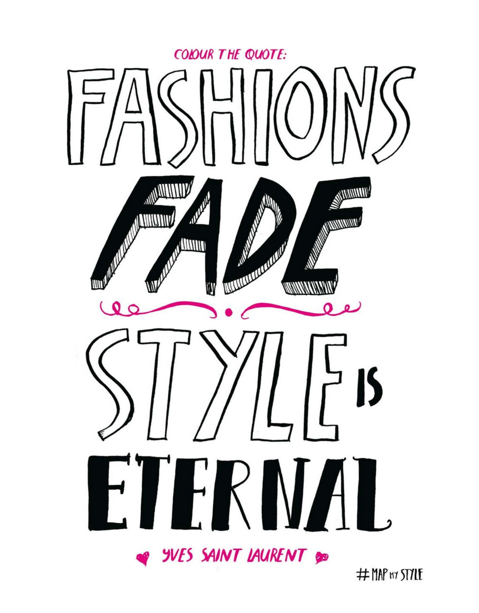 Map My Style - My Fashion Life in Doodles