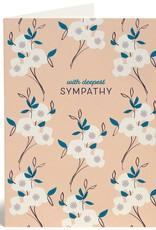 With Deepest Sympathy (Primrose) Greeting Card
