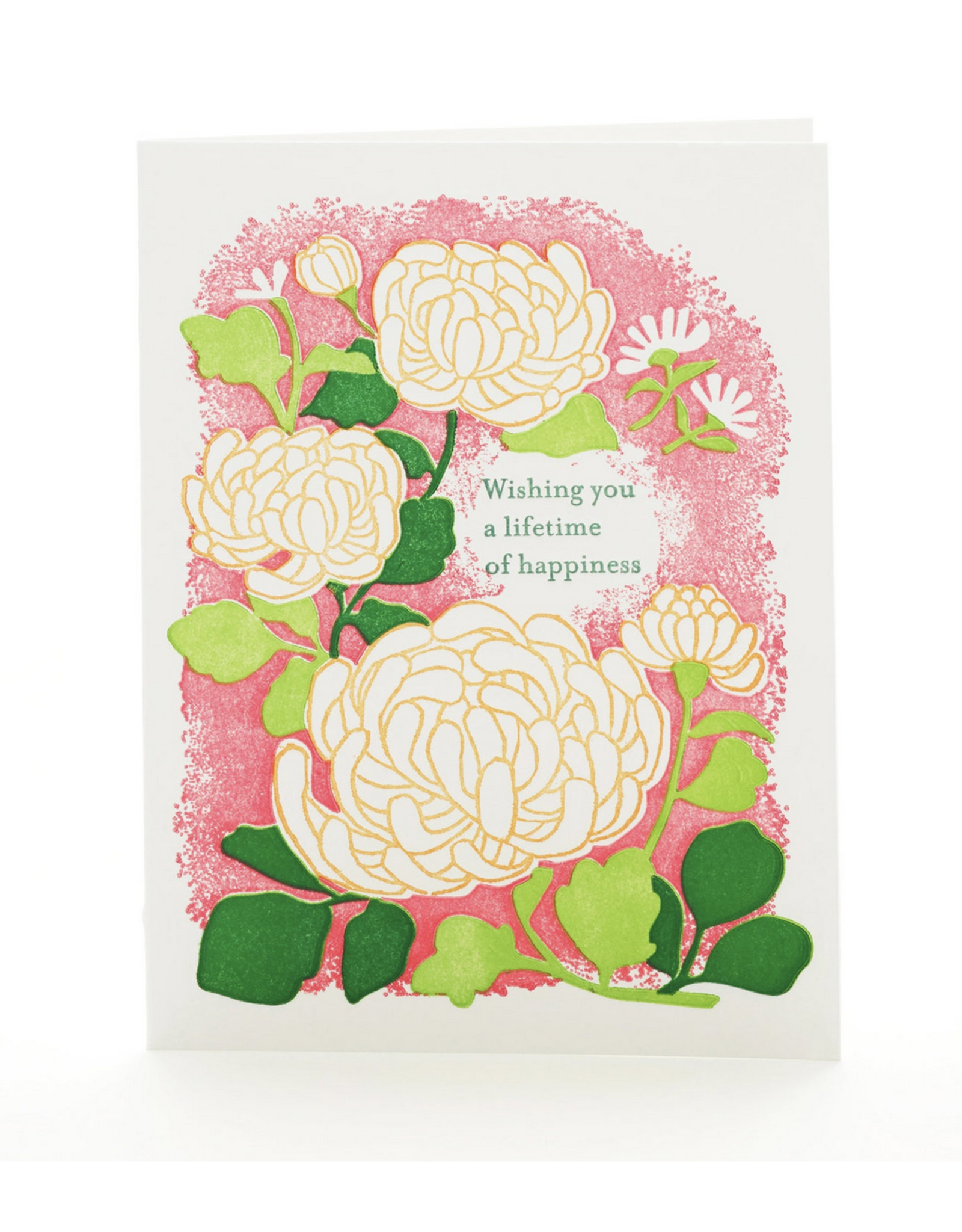 Lifetime of Happiness (Mums) Greeting Card