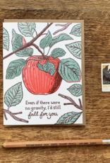 No Gravity Greeting Card