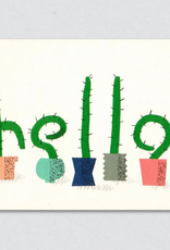Hello Cacti Greeting Card