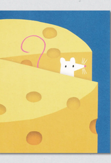 Mouse and Cheese Greeting Card