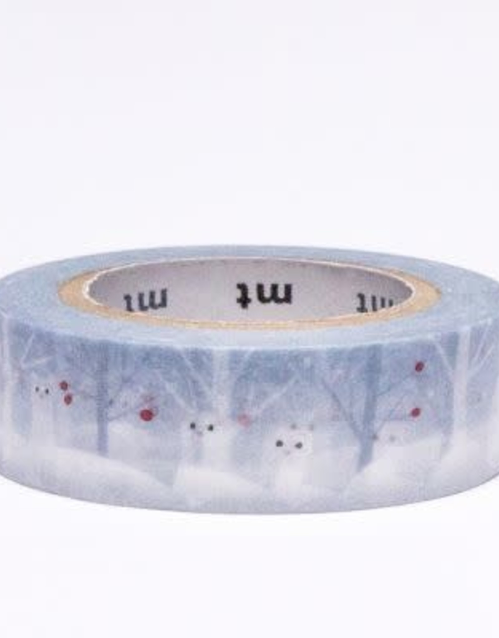 Ermine in Snow Washi Tape