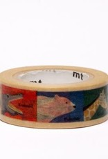 Animals Kids Washi Tape