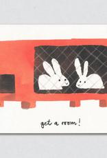 Get A Room Bunnies Greeting Card